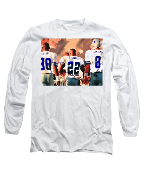 Dallas Cowboys Triplets Long Sleeve T-Shirt