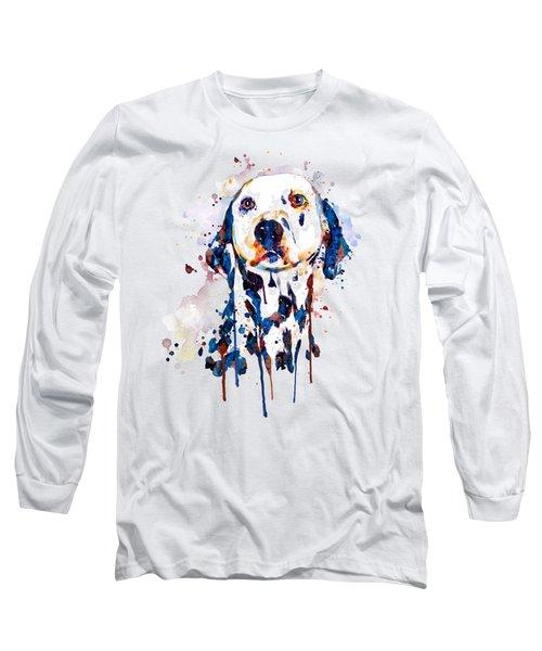 Dalmatian Head Long Sleeve T-Shirt