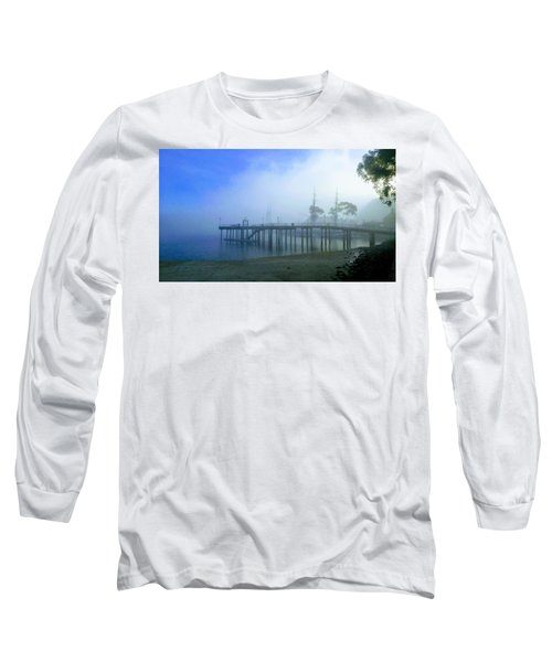 Dana Point Harbor When The Fog Rolls In Long Sleeve T-Shirt