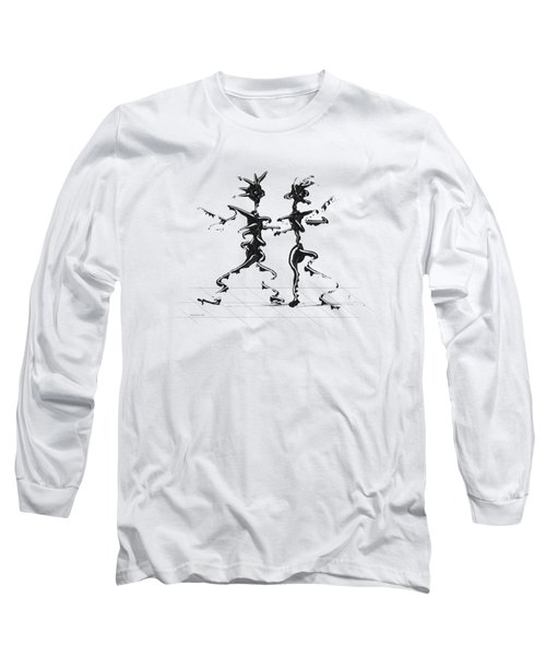 Dancing Couple 2 Long Sleeve T-Shirt