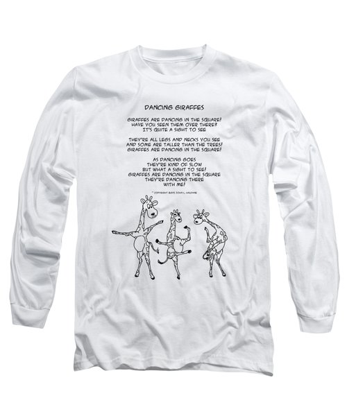 Dancing Giraffes Long Sleeve T-Shirt