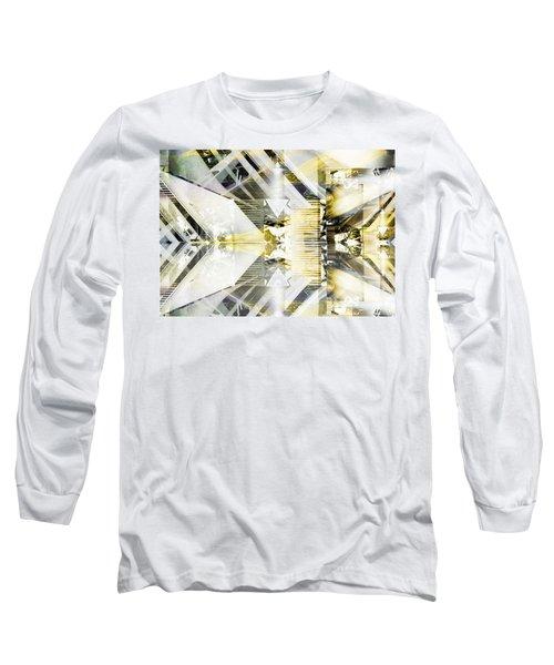 Dancing Lines Long Sleeve T-Shirt