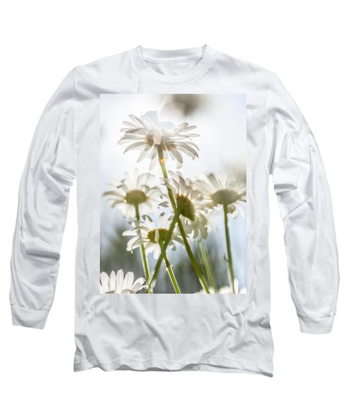Long Sleeve T-Shirt featuring the photograph Dancing With Daisies by Aaron Aldrich
