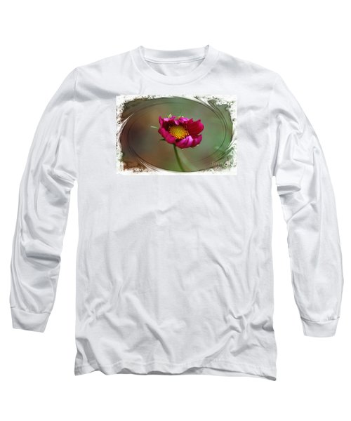Dancing With Wind Long Sleeve T-Shirt by Yumi Johnson