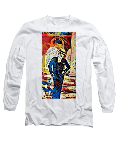 Dapper Dude Long Sleeve T-Shirt