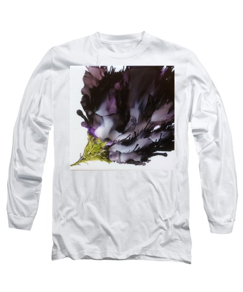 Dark Beauty Long Sleeve T-Shirt by Pat Purdy
