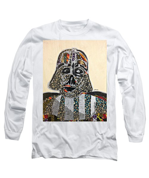 Darth Vader Star Wars Afrofuturist Collection Long Sleeve T-Shirt by Apanaki Temitayo M