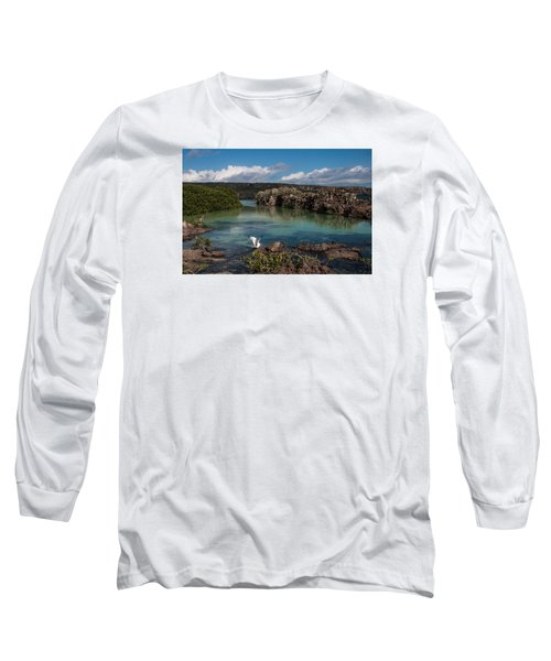 Darwin Bay     Genovesa Island      Galapagos Islands Long Sleeve T-Shirt