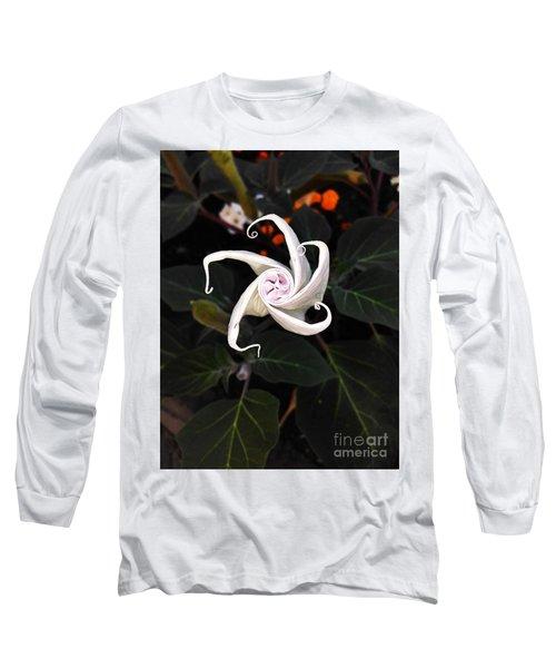 Datura Bud  Long Sleeve T-Shirt