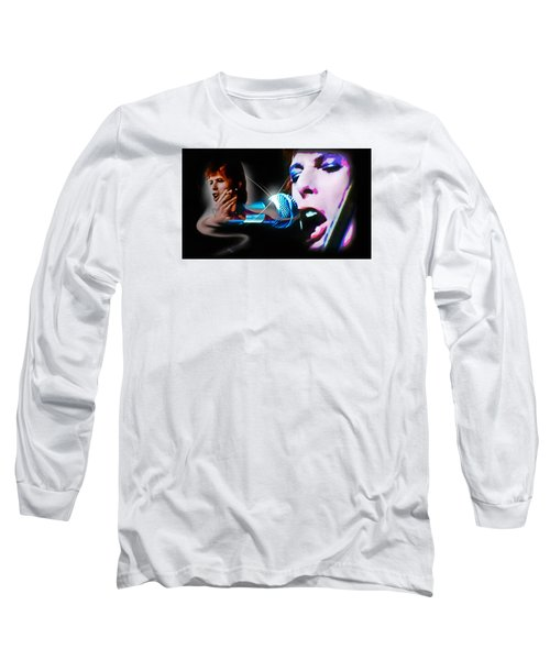 David Bowie  - Jean Genie Long Sleeve T-Shirt