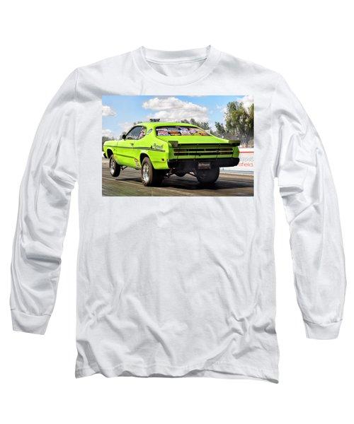 David D Long Sleeve T-Shirt by John Swartz
