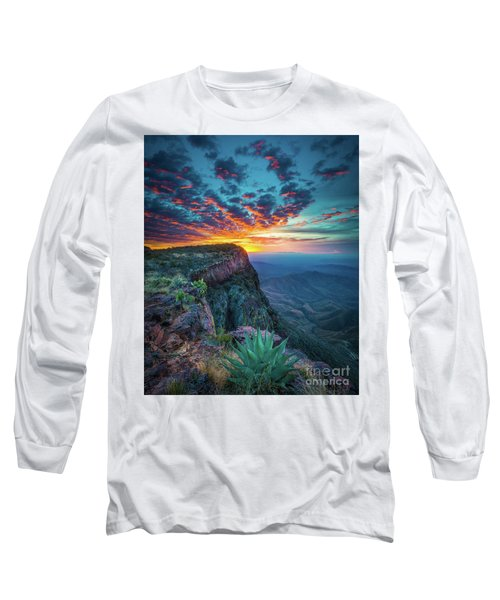 Dawn In The Chisos Long Sleeve T-Shirt