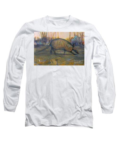 Dawn Run Long Sleeve T-Shirt by Donald Maier