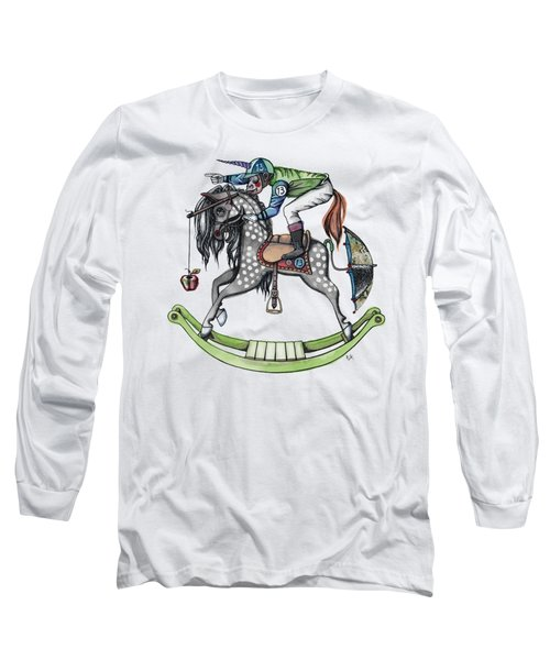 Day At The Races Long Sleeve T-Shirt by Kelly Jade King