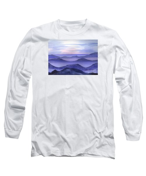 Long Sleeve T-Shirt featuring the painting Day Break by Yolanda Koh