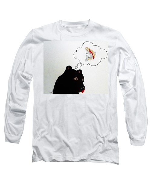 Day Dreaming Of Lunch Long Sleeve T-Shirt