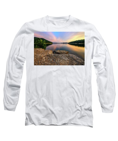 Day Light On The Bay Long Sleeve T-Shirt