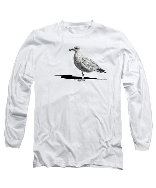 Daydreaming In Black And White Long Sleeve T-Shirt