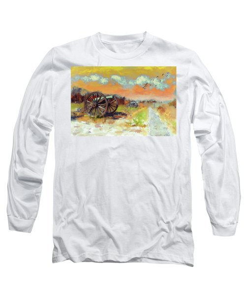 Long Sleeve T-Shirt featuring the photograph Days Of Discontent by Lois Bryan