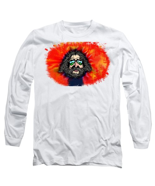 Dead Head Long Sleeve T-Shirt by Pat Cook