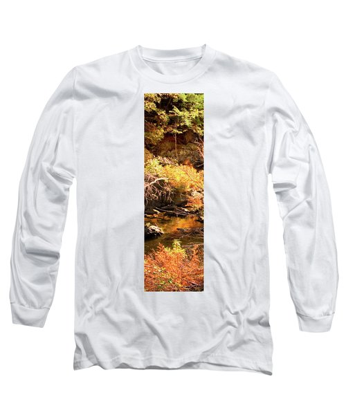 2 Of 6 Dead River Falls  Marquette Michigan Section Long Sleeve T-Shirt