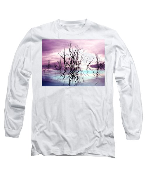 Long Sleeve T-Shirt featuring the photograph Dead Trees Colored Version by Susan Kinney