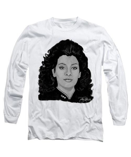 Deanna Troi Long Sleeve T-Shirt