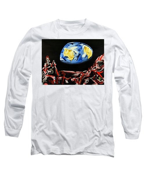 Death By Starlight Long Sleeve T-Shirt by Ryan Demaree