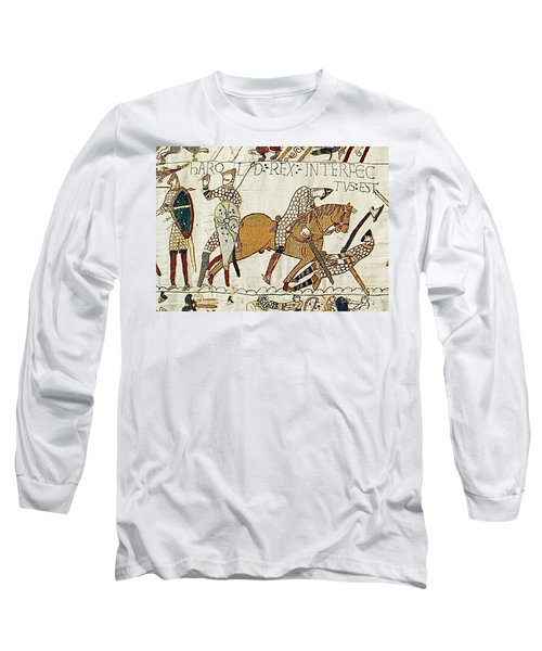 Death Of Harold, Bayeux Tapestry Long Sleeve T-Shirt