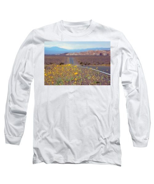 Long Sleeve T-Shirt featuring the photograph Death Valley Superbloom 101 by Daniel Woodrum