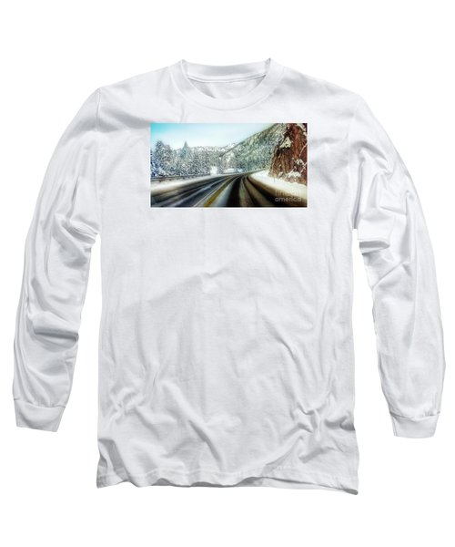 December Drive 4 Long Sleeve T-Shirt by Janie Johnson