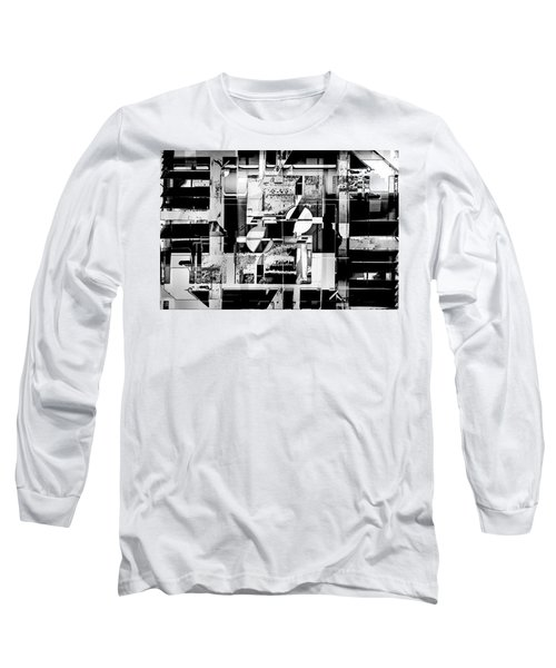 Decentralized Long Sleeve T-Shirt by Don Gradner