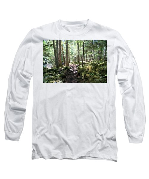 Deep In The Oregon Forest Long Sleeve T-Shirt