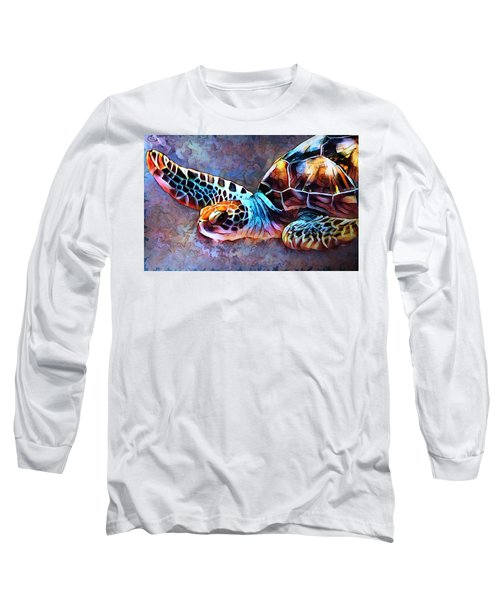 Deep Sea Trutle Long Sleeve T-Shirt