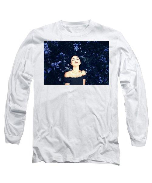 Deepest Blue Long Sleeve T-Shirt