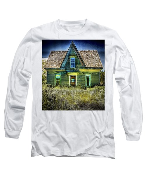 Deer Isle Haunted House Long Sleeve T-Shirt