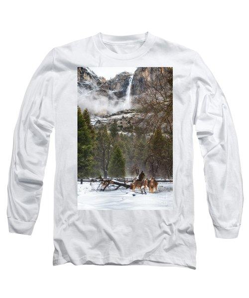 Deer Of Winter Long Sleeve T-Shirt