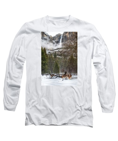 Deer Of Winter Long Sleeve T-Shirt