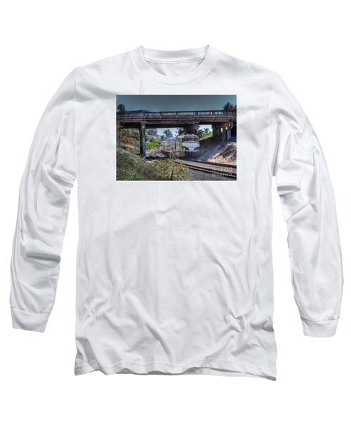 Del Mar Amtrak Long Sleeve T-Shirt