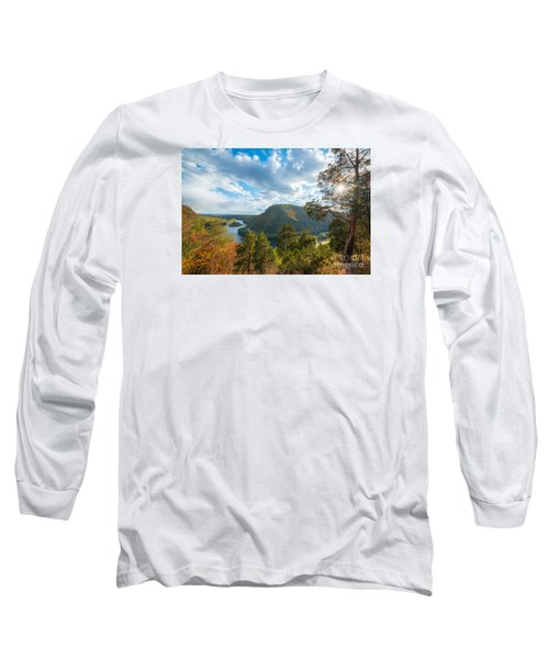 Delaware Water Gap In Autumn Long Sleeve T-Shirt
