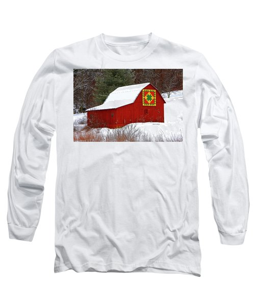 Delectable Mountains Snow Long Sleeve T-Shirt