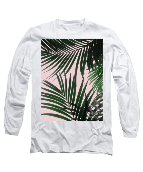 Delicate Jungle Theme Long Sleeve T-Shirt