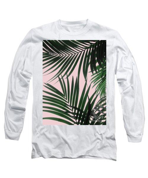 Delicate Jungle Theme Long Sleeve T-Shirt