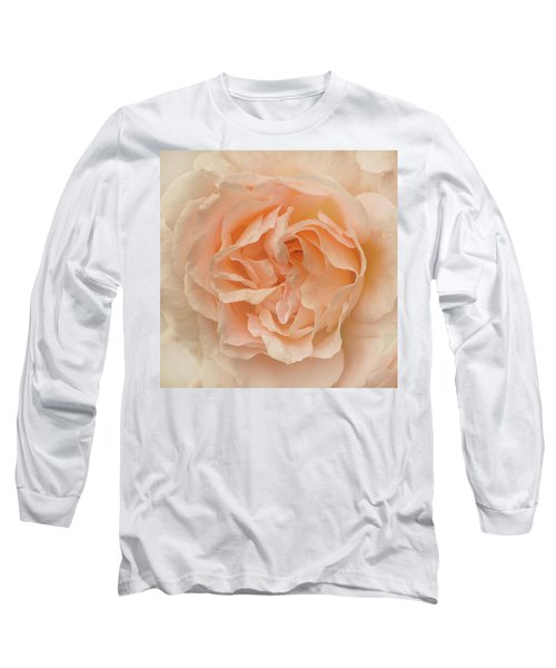 Delicate Rose Long Sleeve T-Shirt by Jacqi Elmslie