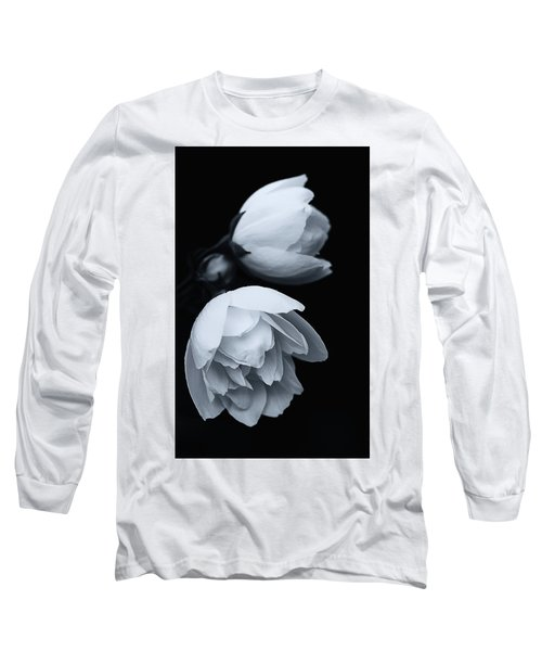 Delicate White Surprise Long Sleeve T-Shirt