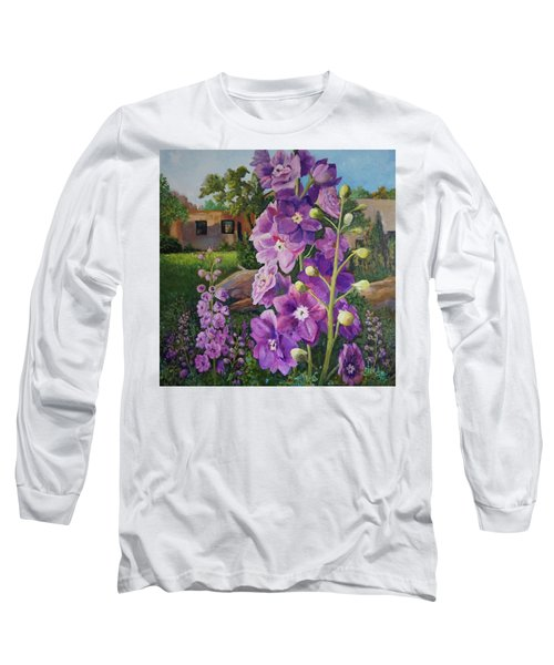 Delightful Delphiniums Long Sleeve T-Shirt