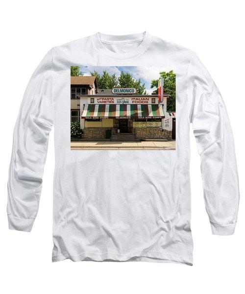 Delmonico's Italian Market Long Sleeve T-Shirt