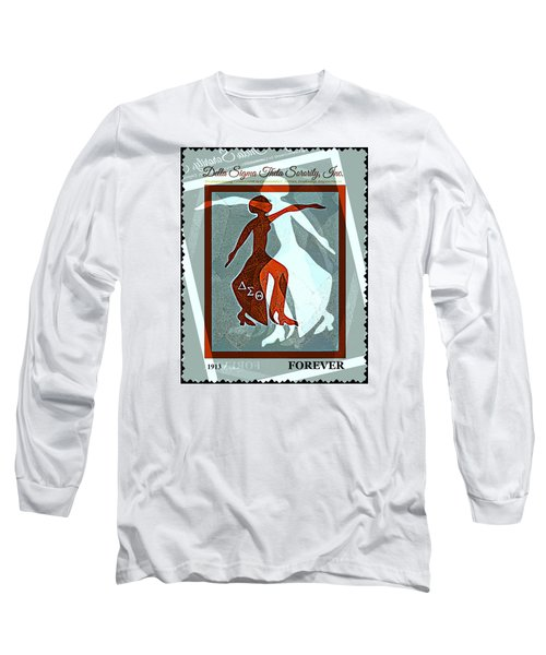 Delta Fortitude Long Sleeve T-Shirt by Lynda Payton