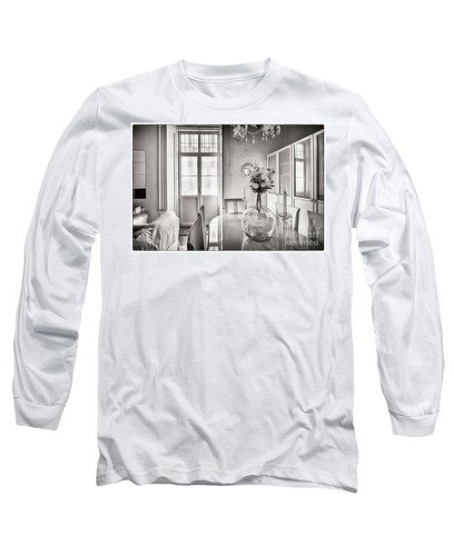 Long Sleeve T-Shirt featuring the photograph Demijohn And Window Cadiz Spain by Pablo Avanzini