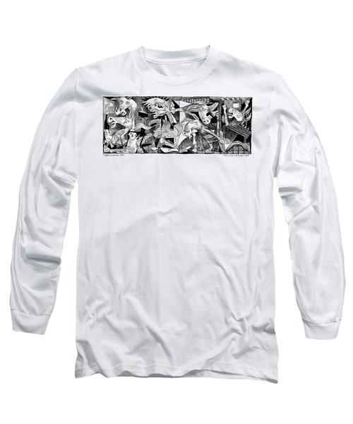 Democrat Guernica Long Sleeve T-Shirt